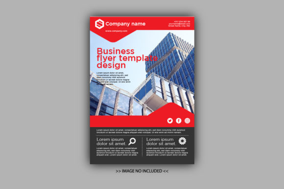 Download Free Business Template Flyer Vol 2 Graphic By Jprintgrafika for Cricut Explore, Silhouette and other cutting machines.
