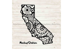 Download Free California Paisley Mandala Graphic By Mockup Station Creative SVG Cut Files