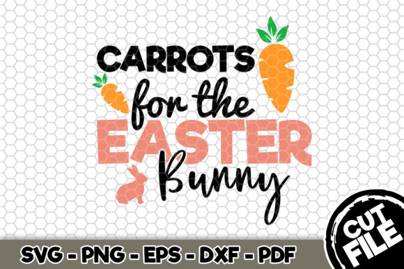 Download Free Carrots For The Easter Bunny Graphic By Svgexpress Creative for Cricut Explore, Silhouette and other cutting machines.
