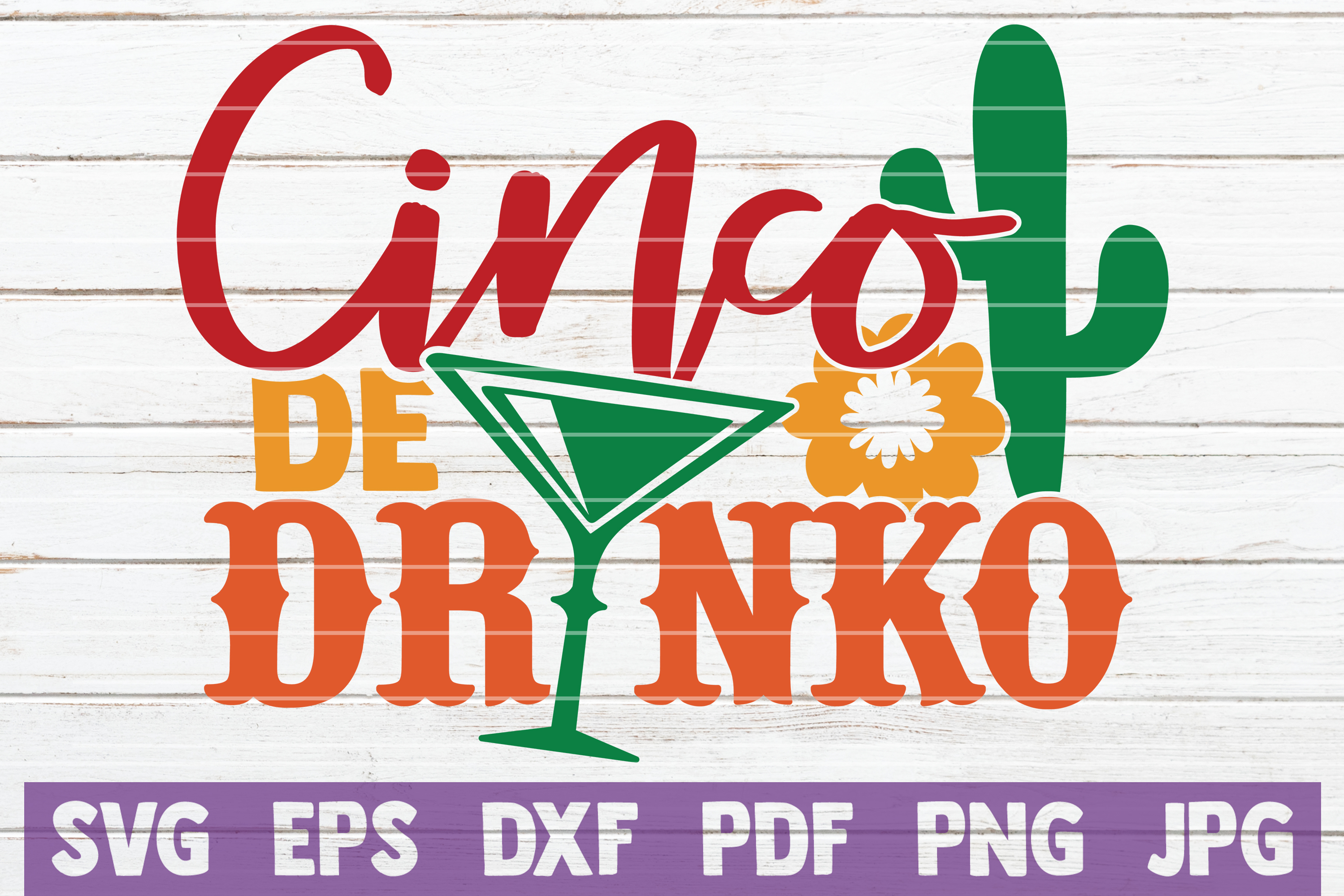 Download Free Cinco De Drinko Graphic By Mintymarshmallows Creative Fabrica SVG Cut Files
