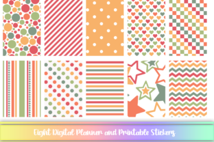 Download Free Colored Digital And Printable Stickers Graphic By Am Digital for Cricut Explore, Silhouette and other cutting machines.