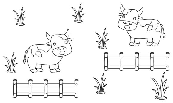 Coloring Book Animals to Educate Kids. Graphic Logos By 2qnah - Image 1