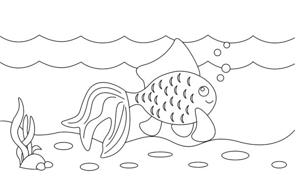 Coloring Book Animals to Educate Kids Graphic Logos By 2qnah - Image 1