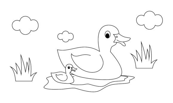 - Coloring Book Animals To Educate Kids. (Graphic) By DEEMKA STUDIO ·  Creative Fabrica