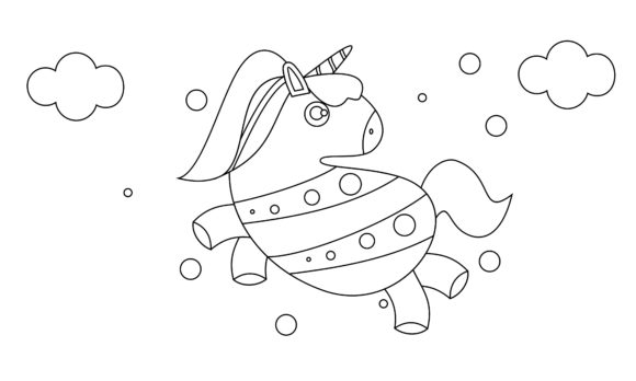 Coloring Book Animals to Educate Kids. Graphic Coloring Pages & Books Kids By DEEMKA STUDIO