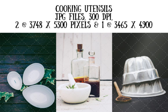 Cooking Utensils Graphic Food & Drinks By My Little Black Heart