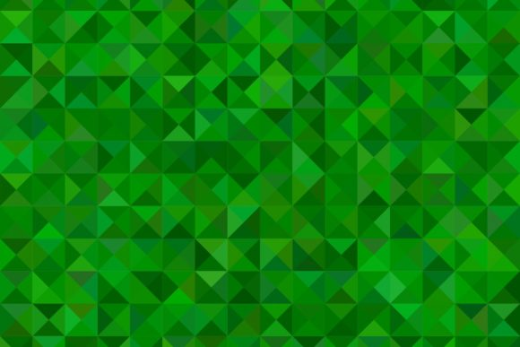 Download Free Dark Green Triangle Mosaic Background Graphic By Davidzydd for Cricut Explore, Silhouette and other cutting machines.