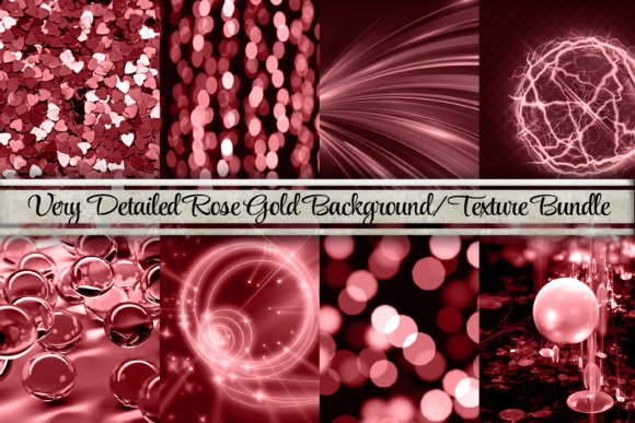 Download Free Dramatic Rose Gold Backgrounds Textures Graphic By Am Digital for Cricut Explore, Silhouette and other cutting machines.