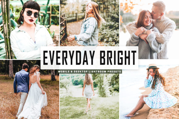 Print on Demand: Everyday Bright Pro Lightroom Preset Graphic Actions & Presets By Creative Tacos