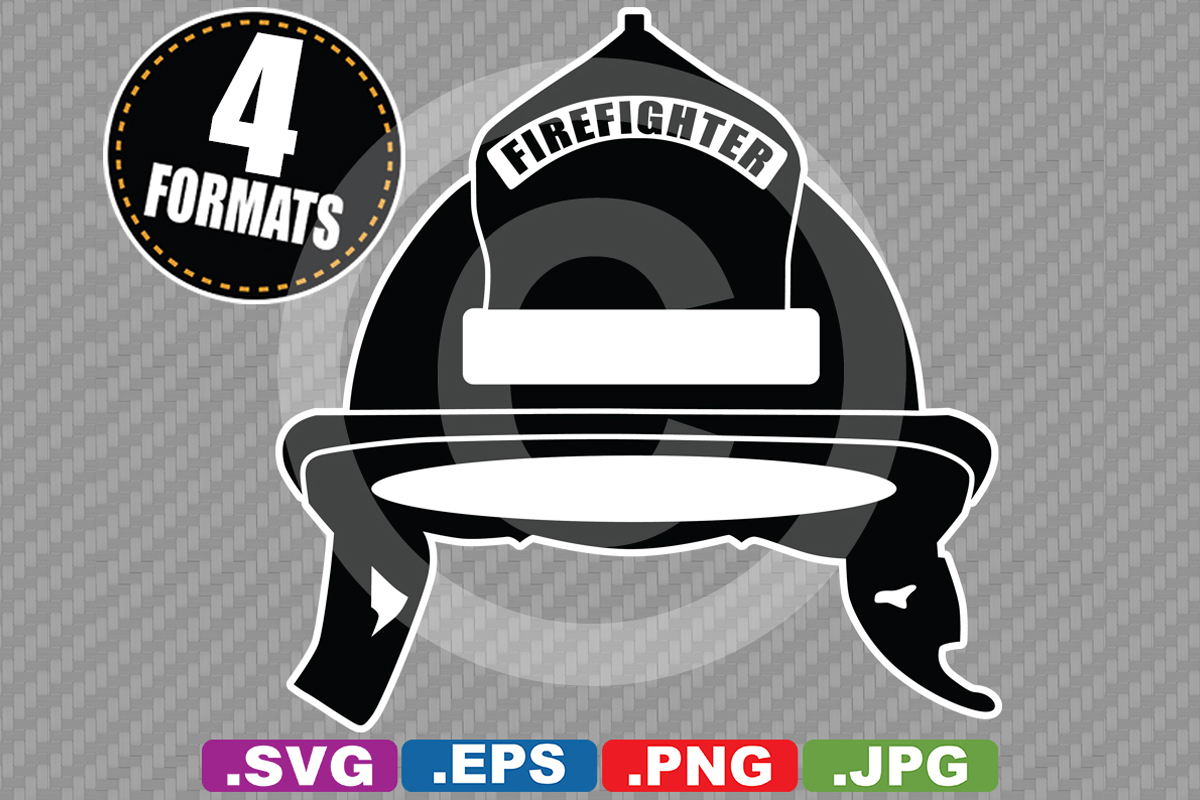 Download Free Firefighter Helmet Silhouette Graphic By Idrawsilhouettes for Cricut Explore, Silhouette and other cutting machines.