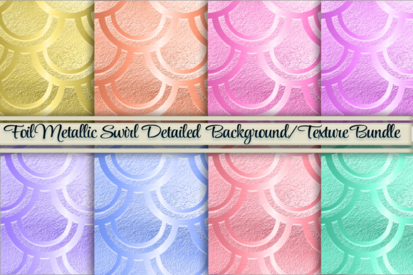 Download Free Foil Swirl Glamorous Background Texture Graphic By Am Digital SVG Cut Files