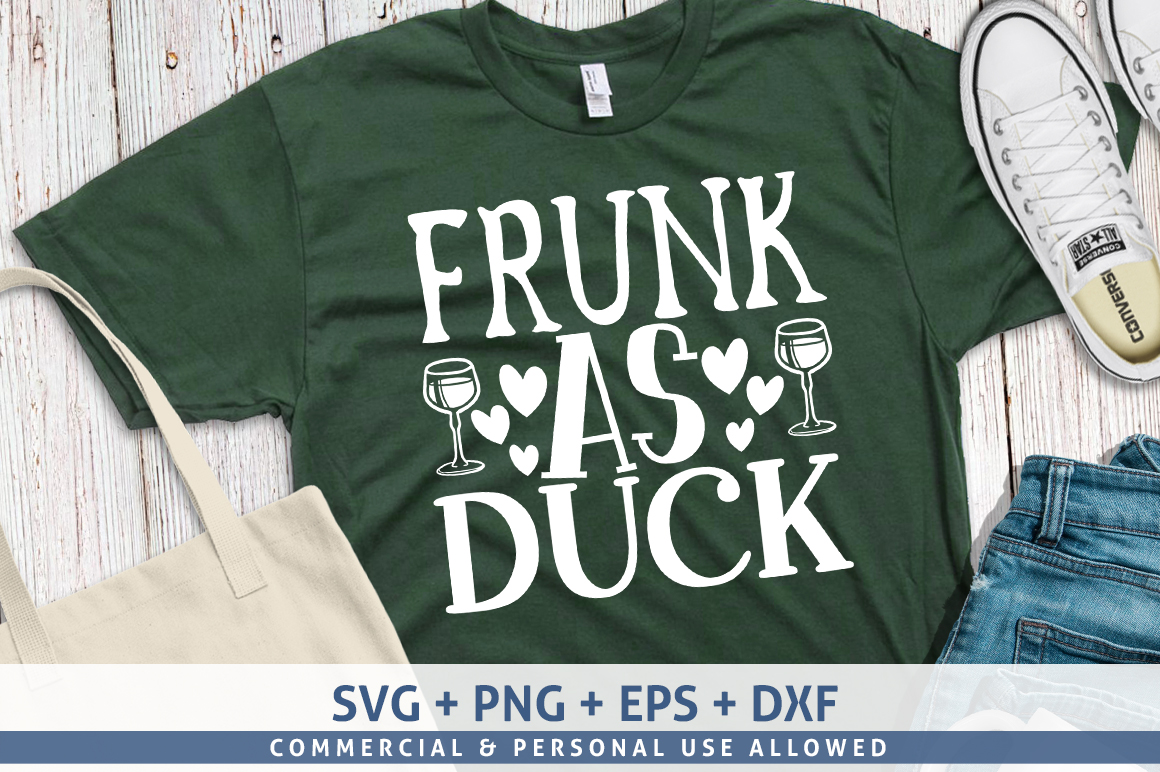 Download Free Frunk As Duck Graphic By Subornastudio Creative Fabrica for Cricut Explore, Silhouette and other cutting machines.