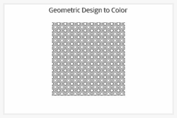 Download Free Geometric Design Graphic By Designs 2 Color Creative Fabrica for Cricut Explore, Silhouette and other cutting machines.
