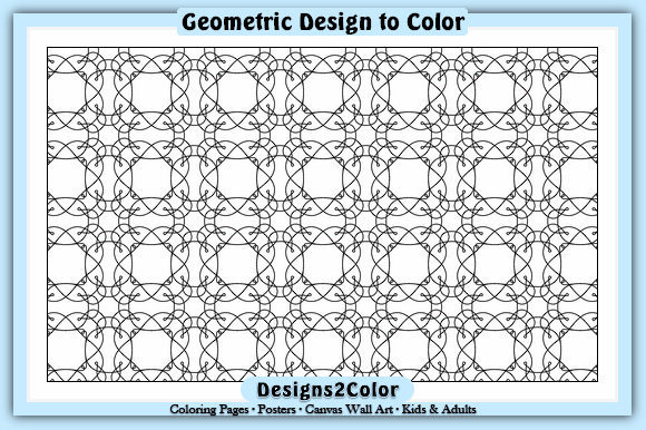 Download Free Geometric Design 82541 Graphic By Designs 2 Color Creative for Cricut Explore, Silhouette and other cutting machines.