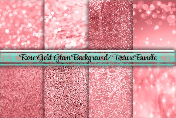 Download Free Glamorous Rose Gold Background Textures Graphic By Am Digital for Cricut Explore, Silhouette and other cutting machines.