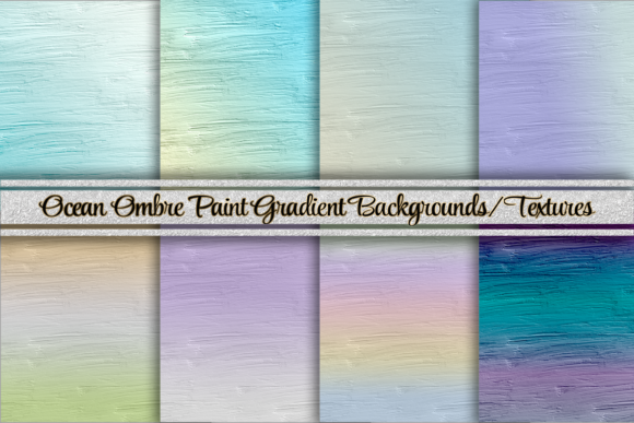 Gradient Ombre Paint Texture Backgrounds Graphic Backgrounds By AM Digital Designs