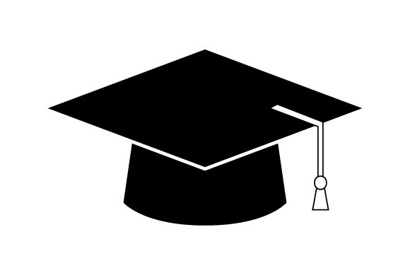 Download Free Graduation Hat Icon Graphic By Marco Livolsi2014 Creative Fabrica for Cricut Explore, Silhouette and other cutting machines.