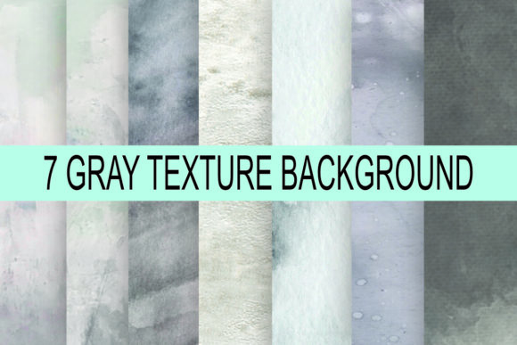 Print on Demand: Gray Texture Background Graphic Backgrounds By rodesigns