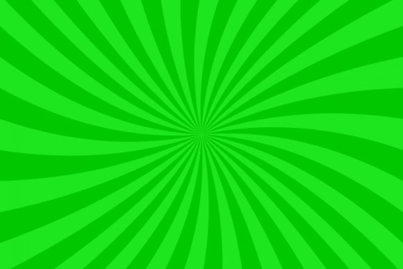 Download Free Green Curved Ray Burst Background Graphic By Davidzydd for Cricut Explore, Silhouette and other cutting machines.