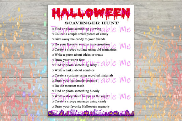 Download Free Scary Halloween Poster Background Horror Graphic By for Cricut Explore, Silhouette and other cutting machines.