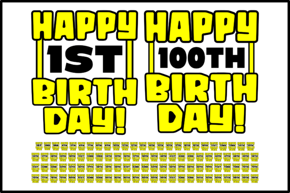 Download Free 10 50th Birthday Designs Graphics for Cricut Explore, Silhouette and other cutting machines.