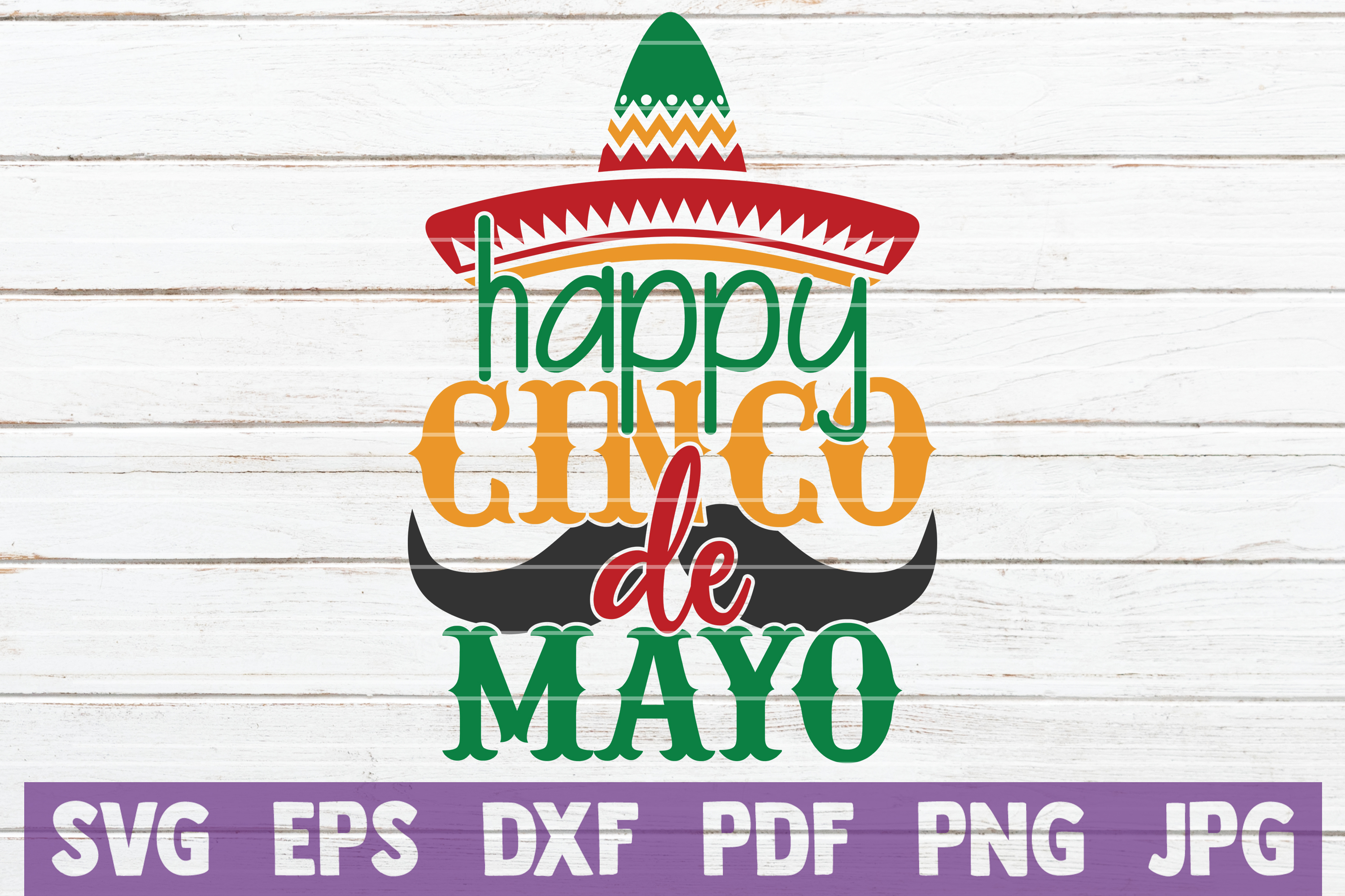 Download Free Happy Cinco De Mayo Graphic By Mintymarshmallows Creative Fabrica for Cricut Explore, Silhouette and other cutting machines.