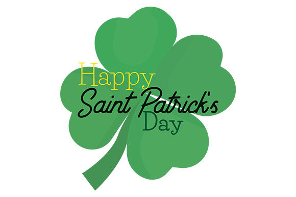 Print on Demand: Happy Saint Patrick's Day - Clover Graphic Crafts By Latin Vibes