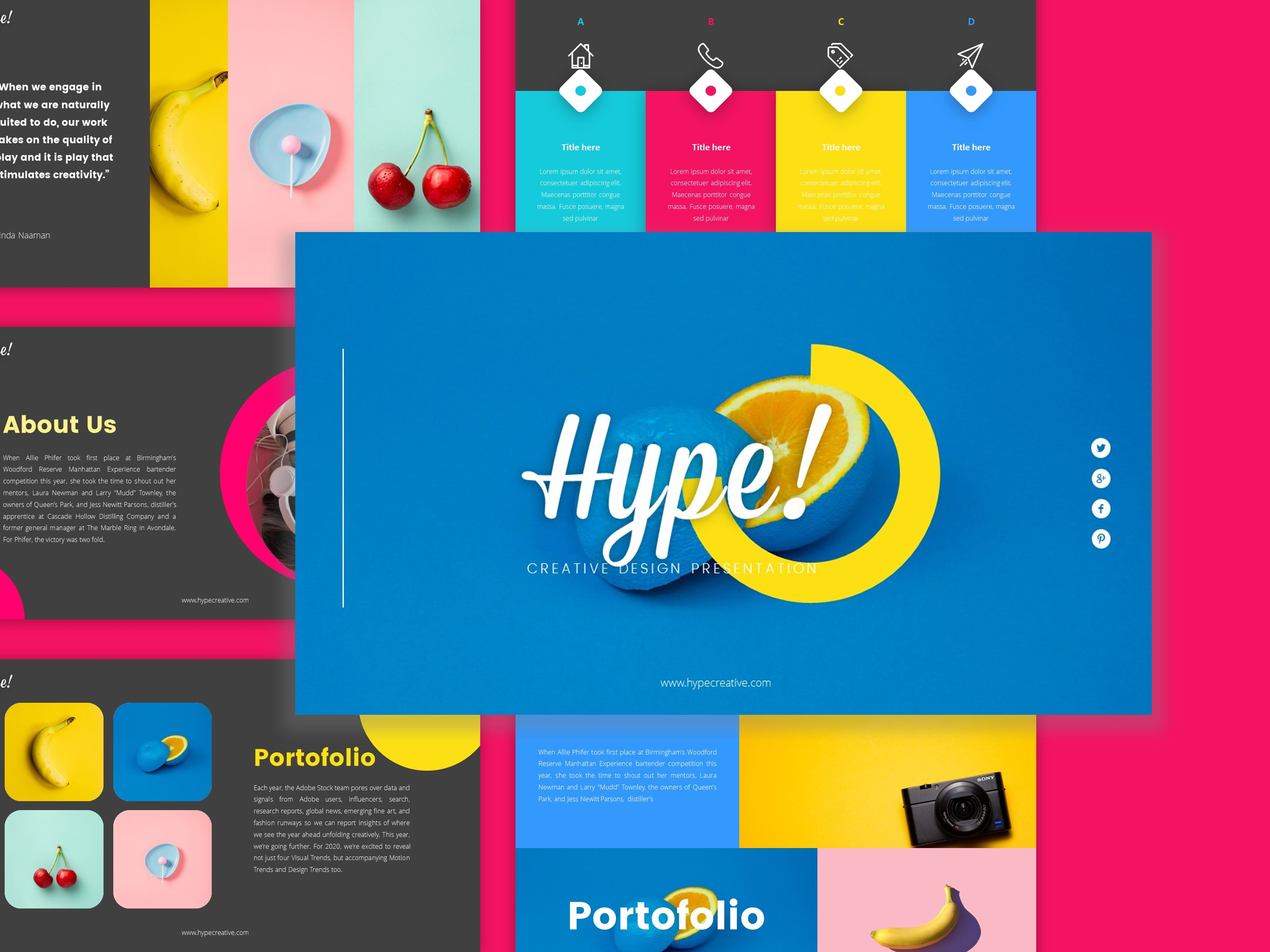 Download Free Hype Creative Business Presentation Graphic By Dijimedia for Cricut Explore, Silhouette and other cutting machines.