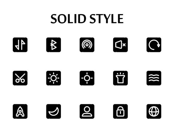 ICON APP SOLID STYLE 32 X 32 Graphic Icons By renisugiarto21