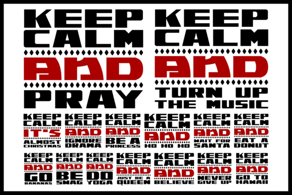 Download Free Keep Calm Graphic By Colorsplash Creative Fabrica for Cricut Explore, Silhouette and other cutting machines.