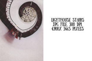 Download Free Lighthouse Stairs From Below Graphic By My Little Black Heart SVG Cut Files