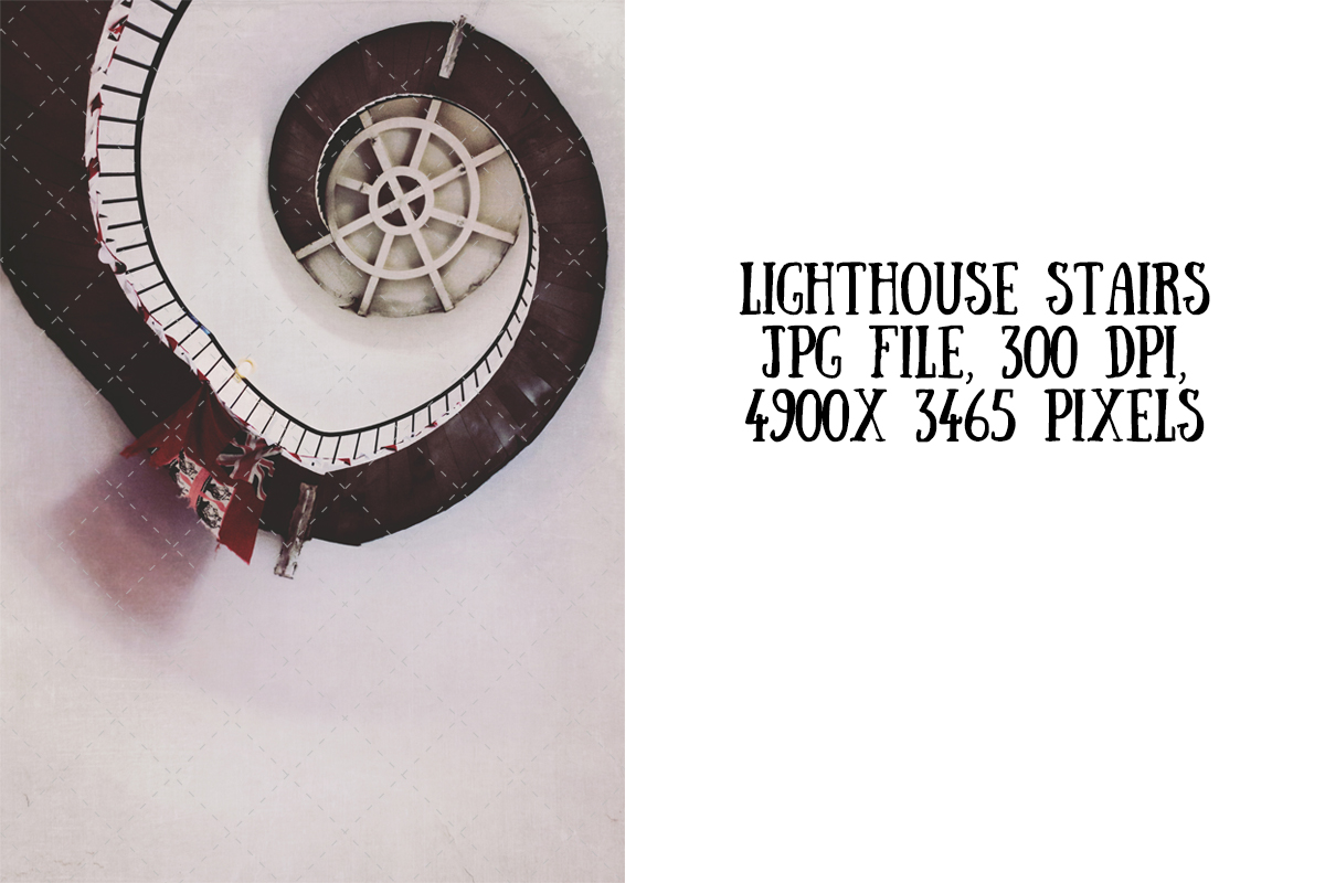 Download Free Lighthouse Stairs From Below Graphic By My Little Black Heart for Cricut Explore, Silhouette and other cutting machines.