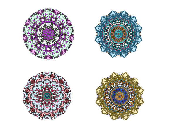 Download Free Mandala Pack Graphic By Salmanarulita Creative Fabrica for Cricut Explore, Silhouette and other cutting machines.