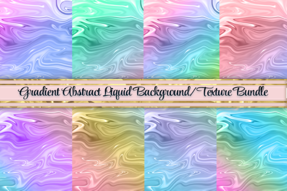 Print on Demand: Marble Gradient Background Textures Graphic Backgrounds By AM Digital Designs