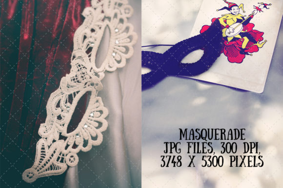 Masquerade Graphic Arts & Entertainment By My Little Black Heart