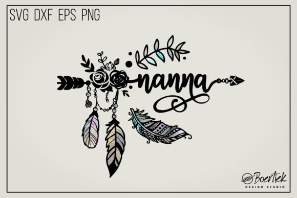 Download Free Nanna Graphic By Boertiek Creative Fabrica for Cricut Explore, Silhouette and other cutting machines.