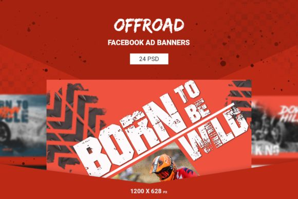 Offroad Facebook Ad Banners Graphic Web Elements By qohhaarqhaz