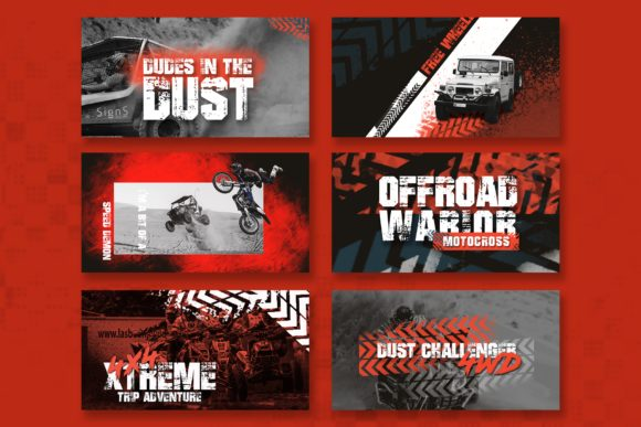 Download Free Offroad Facebook Ad Banners Grafico Por Qohhaarqhaz Creative for Cricut Explore, Silhouette and other cutting machines.