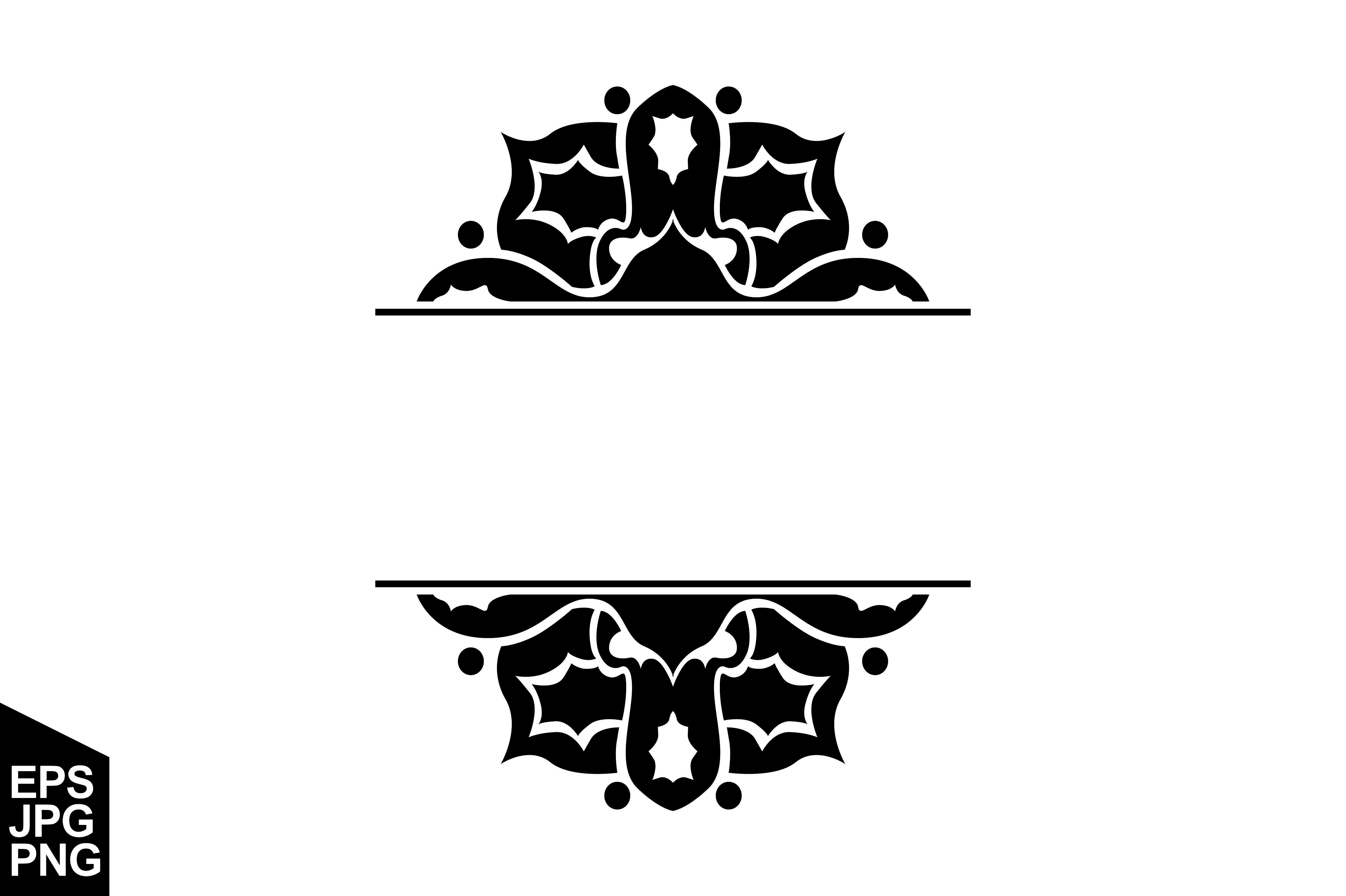 Download Free Ornament Border Decoration Vector Graphic By Arief Sapta Adjie for Cricut Explore, Silhouette and other cutting machines.