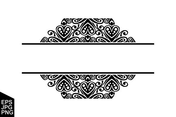 Download Free Ornament Decoration Border Vector Graphic By Arief Sapta Adjie for Cricut Explore, Silhouette and other cutting machines.