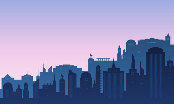 Download Free City Background Of Daylight Graphic By Cityvector91 Creative for Cricut Explore, Silhouette and other cutting machines.