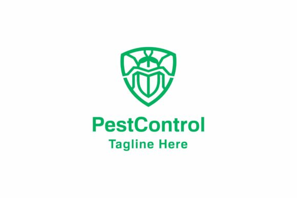 Pest Control Logo Graphic Logos By ZHR Creative