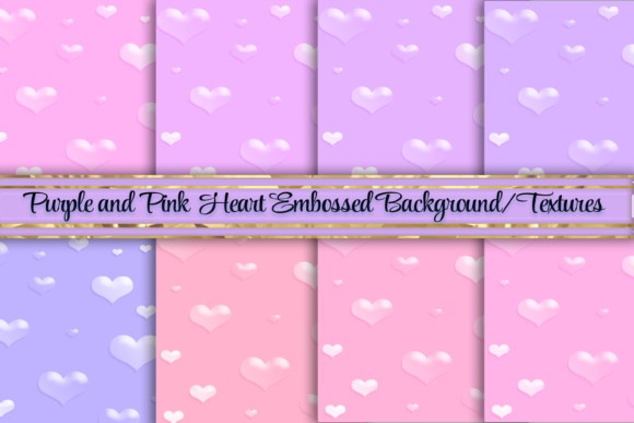 Print on Demand: Pink and Purple Foil Background Textures Graphic Backgrounds By AM Digital Designs