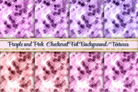 Download Free Pink And Purple Foil Textured Background Graphic By Am Digital for Cricut Explore, Silhouette and other cutting machines.