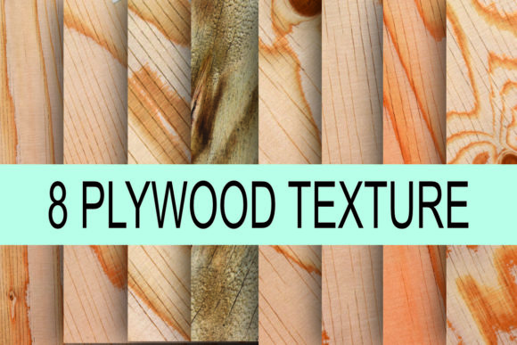Print on Demand: Plywood Texture Background Photo Graphic Textures By rodesigns
