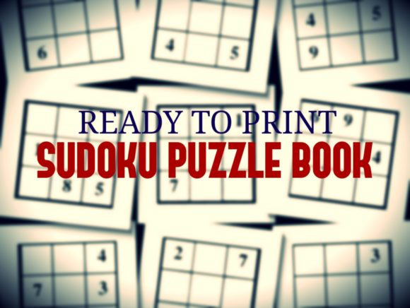 Print on Demand: Print Ready Sudoku Puzzle Book Vol 142 Graphic KDP Interiors By ermannofficial