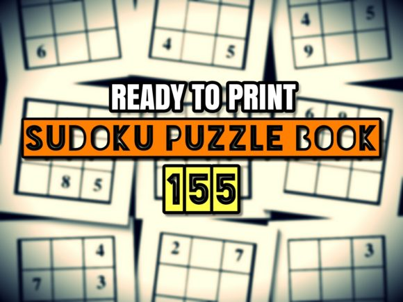 Print on Demand: Print Ready Sudoku Puzzle Book Vol 155 Graphic KDP Interiors By ermannofficial - Image 1
