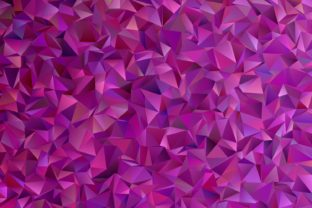 Purple Chaotic Triangle Background Graphic Backgrounds By davidzydd
