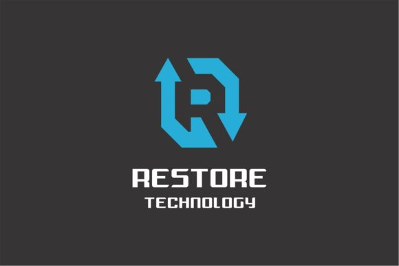 Restore Technology Logo Graphic Logos By ZHR Creative