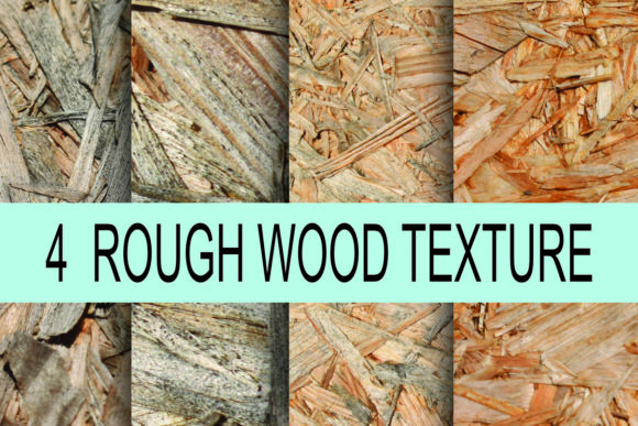 Print on Demand: Rough Wood Texture Background Photo Graphic Textures By rodesigns